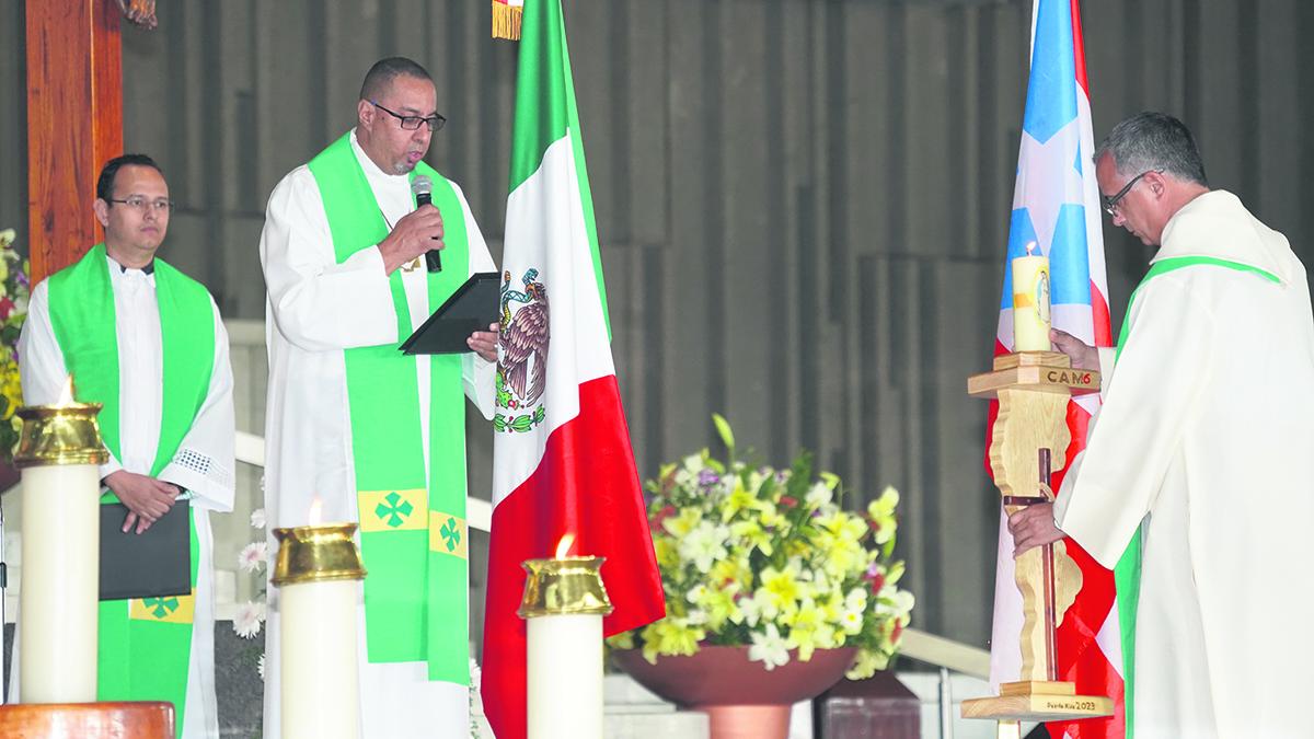 P. José Orlando Camacho, coordinador general del CAM6